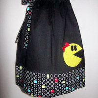 Ms. Pac Man Pillowcase Dress Perfect for Summer or Birthday