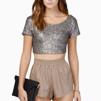 Dazzled Crop Top $35