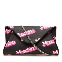 MOSCHINO | Leather Envelope Clutch Bag | Browns fashion & designer clothes & clothing