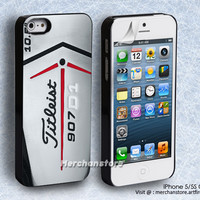Titleist Golf Stick 907D1 Logo iPhone 5 or 5S Cover Case