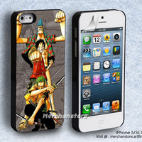 Zoro Luffy and Franky One Piece iPhone 5 or 5S Case