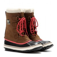 sorel - 1964 pac 2 suede and rubber boots