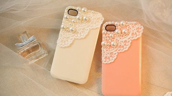 The Pearl Lace flash shell iphone 4 iphone 4s case