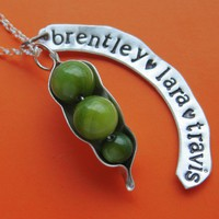 Customizable Peapod Necklace