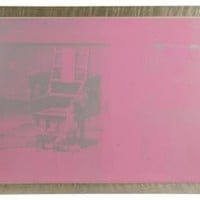 One Kings Lane - Edie O'Rourke - Andy Warhol, Electric Chair, 1970