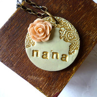 Mother's Day - Grandma Necklace - Personalized Jewelry