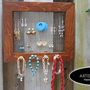 Mesh Earring, Necklace and Bracelet Holder Display Organizer 3 in 1