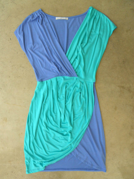 Two Tone Tulip Dress [3054] - $34.00 : Vintage Inspired Clothing & Affordable Summer Dresses, deloom | Modern. Vintage. Crafted.