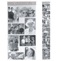 Kikkerland Horizontal and Vertical 4 by 6-Inch Photo Strip