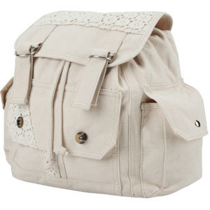 Crochet Trim Backpack 186576415 | Backpacks | Tillys.com