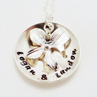 Sterling Silver Hand Stamped Necklaces