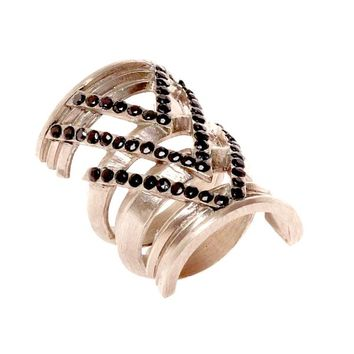 House of Harlow 1960 Jewelry Chevron Ring