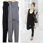 YESSTYLE: Cocopop- Drawstring-Waist Jumpsuit - Free International Shipping on orders over $150
