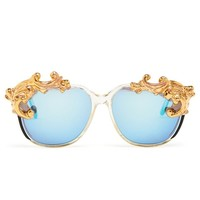 MOO | Desire Sunglasses | Browns fashion & designer clothes & clothing