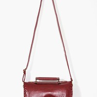 Weave It Satchel - Red