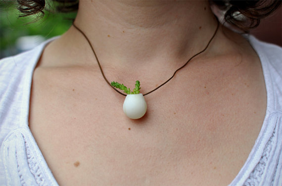 A Miniature Wearable Planter by colleenjordan on Etsy