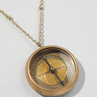 White Star Compass Necklace | Vintage Compass Necklace | fredflare.com