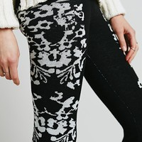 Knitz by For Love & Lemons Womens Cuddle Up Flares - Black