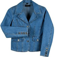 Dunbrooke Lady Eldorado Coat Ladies Denim Blazer Jacket. 8504