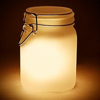 Sun Jar Solar Powered Lamp in Yellow - Urban Outfitters