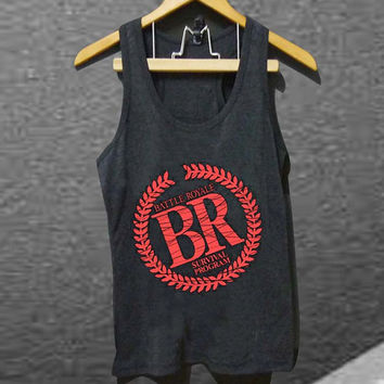 battle royal  for Tank top Mens and Tank top Girls customized