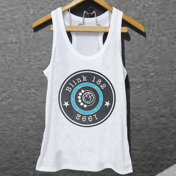 Blink 182 1992 for Tank top Mens and Tank top Girls customized