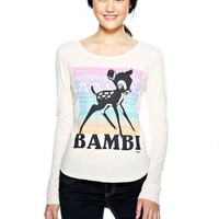 Tribal Bambi Long-Sleeve Top
