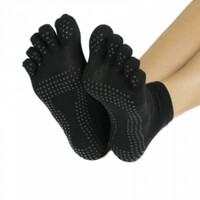 ProSource Yoga Socks Full Toe with Grips S/M @ Jewelry Wonder