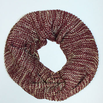 Harvest Time Infinity Scarf
