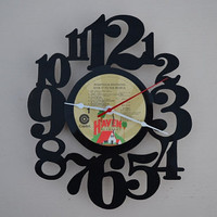 Vinyl Record Album Wall Clock (artist is The Righteous Brothers)