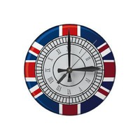London Big Ben Clock Face Wall Clock from Zazzle.com