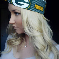 Green Bay Packers reversible NFL Dolly bow