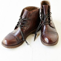 Bed Stu Loop Boot- Brown