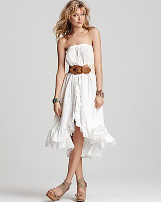 Free People Cascade Convertible Skirt - Dresses - Bloomingdales.com