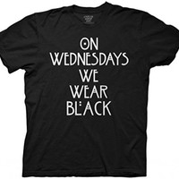 American Horror Story: Coven On Wednesdays We Wear Black T-Shirt