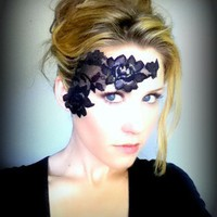 Lace Tattoo / Mask for face or body ADHERES TO by LacedAndWaisted