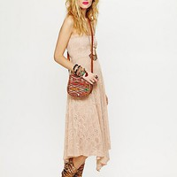 Free People Victorian Lace Tube Dress