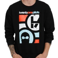 Twenty One Pilots Mask Crewneck Sweatshirt