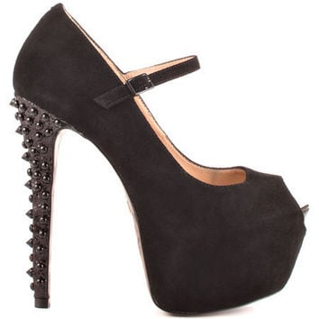 Betsey Johnson - Belll - Black Suede