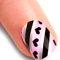 You've Got Nail Stickers in Love Lines | Mod Retro Vintage Cosmetics | ModCloth.com