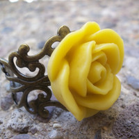 Symphony  A Rose Ring By AlteredHead On Etsy