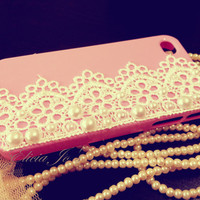 Lace Love iPhone 4 case