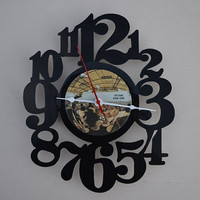 Vinyl Record Album Wall Clock (artist is Humble Pie)