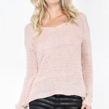 Basic Knit Sweater | MakeMeChic.com