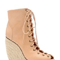 Solange Wedges- Nude
