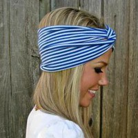 Vintage Turban Style Stretch Jersey.. on Luulla