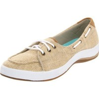 Keds Women`s Portside Boat Shoe,Stone,5 M US