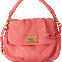 Marc by Marc Jacobs|Classic Q Lil Ukita textured-leather shoulder bag|NET-A-PORTER.COM
