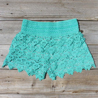 Easy Rider Shorts in Mint, Women's Sweet Country Clothing