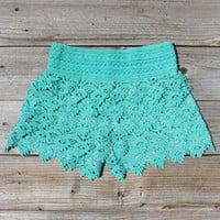 Easy Rider Shorts in Mint, Women&#x27;s Sweet Country Clothing